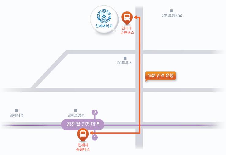 인제대학교 인제대 순환버스/경전철